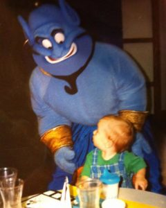 Character meal with Genie