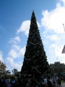Christmastime at Walt Disney World