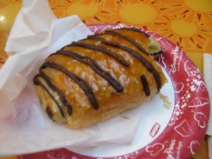 Sunshine Season's Chocolate Croissant