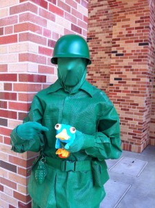 Army Man in Pixar Place, DHS