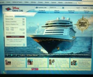Disney Cruise Line Site