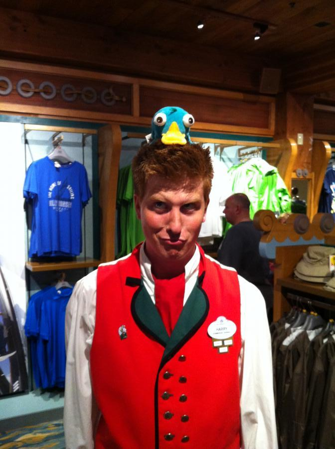 Cast Member in Norway Pavilion