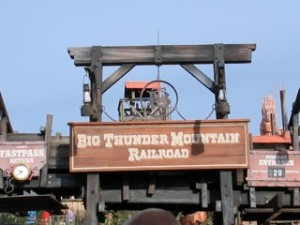 WDW Big Thunder Mountain Railroad