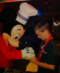 Disney Character Autographs at Chef Mickey's