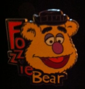 Fozzie the Bear Disney Pin