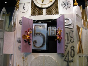 It's a Small World Clock