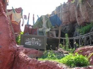 Walt Disney World's Splash Mountain Scenery