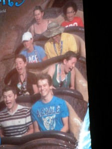 The 50-Foot Drop on Splash Mountain