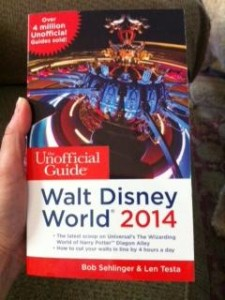 Unofficial Guide to WDW 2014