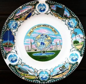 1964 World's Fair Plate