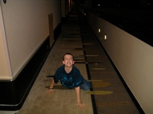 Children Misbehave at the Contemporary Resort