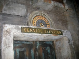 Twilight Zone Tower of Terror Elevator