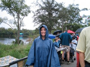 Rainy Day in Disney's Animal Kingdom