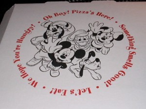 Walt Disney World Resort Pizza Delivery