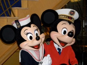 Mickey and Minnie Mouse, DCL