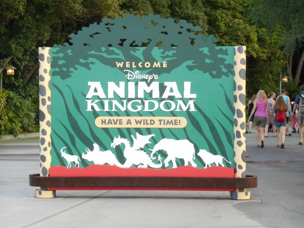 Disney's Animal Kingdom Sign