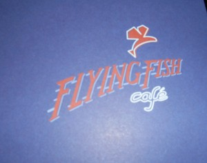 Flying Fish Cafe Menu Cover