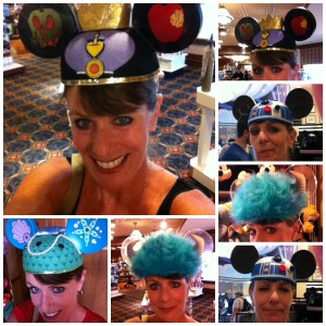 Trying Different Disney EarHats