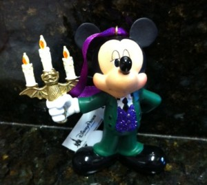 Haunted Mansion Mickey Ornament