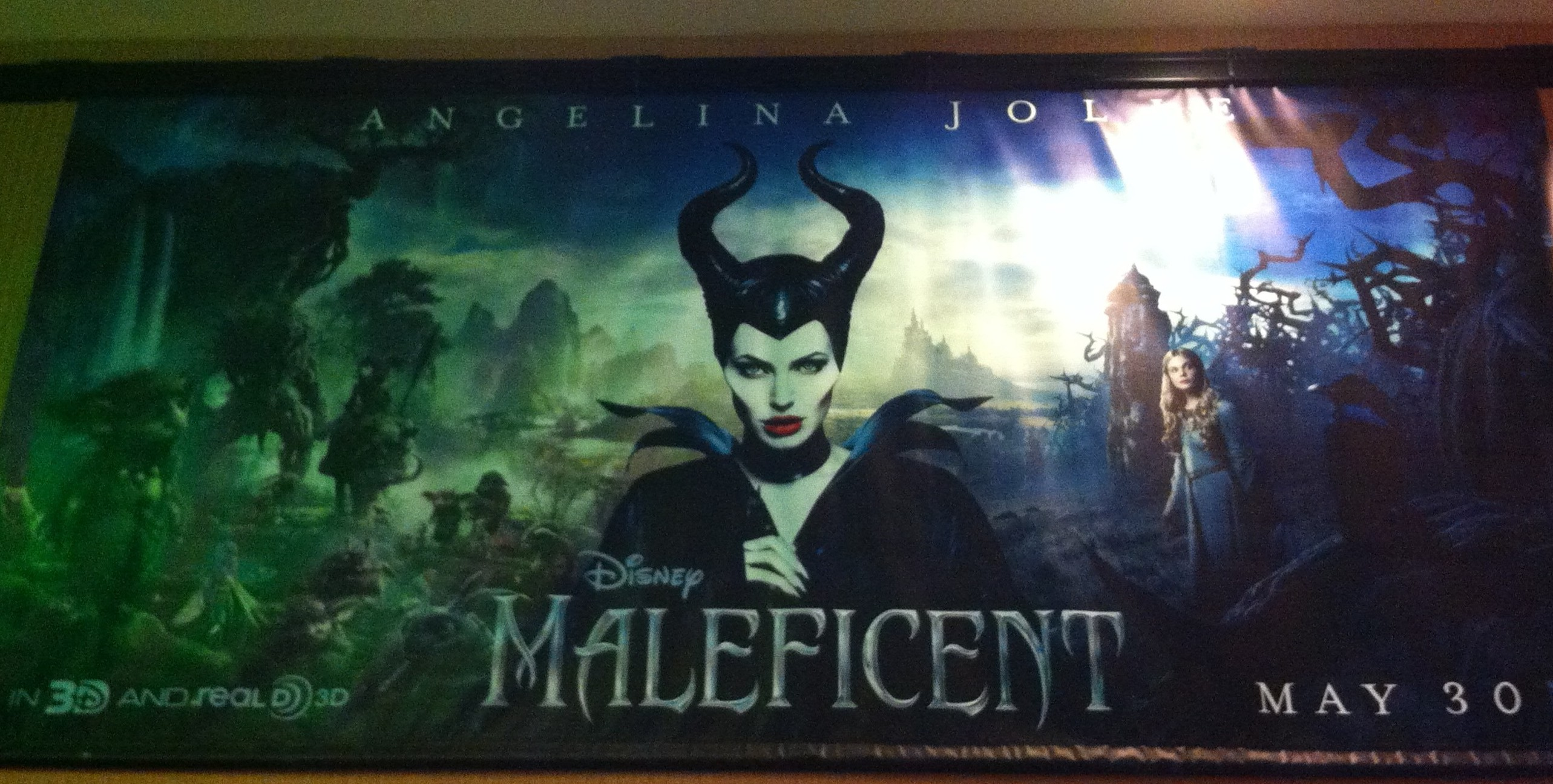 Maleficent Movie Poster Living A Disney Lifeliving A