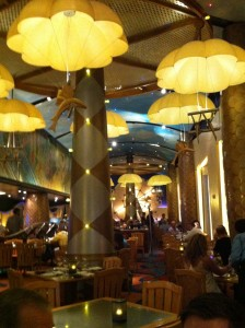 Disney's Flying Fish Cafe Interior