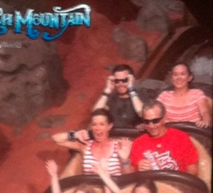 Splash Mountain Ride Photo