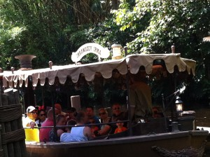 Sailing on WDW Jungle Cruise