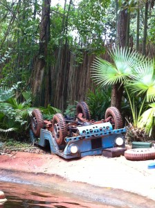 WDW Jungle Cruise Jeep
