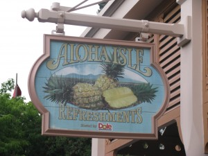 Aloha Isle - Home of the Dole Whip