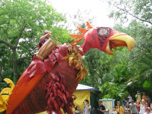Mickey's Jammin Jungle Parade Bird