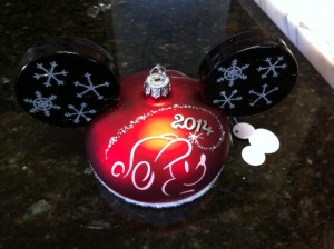 Personalized Disney Ornament