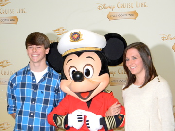 Meeting Mickey on Disney Cruise Line