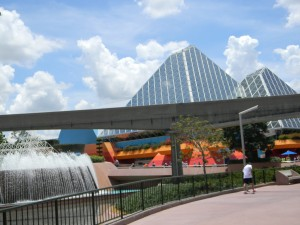 Epcot in Summer