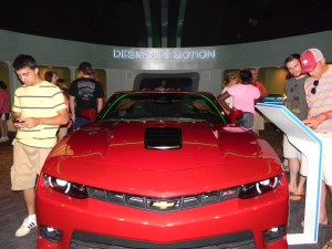Display Vehicle in Epcot's Test Track