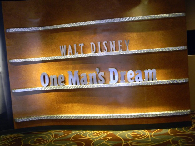Walt Disney: One Many's Dream feature wall