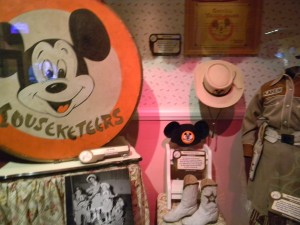 Mickey Mouse Club artifacts in One Man's Dream