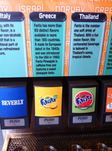 The Flavors in Epcot's Club Cool