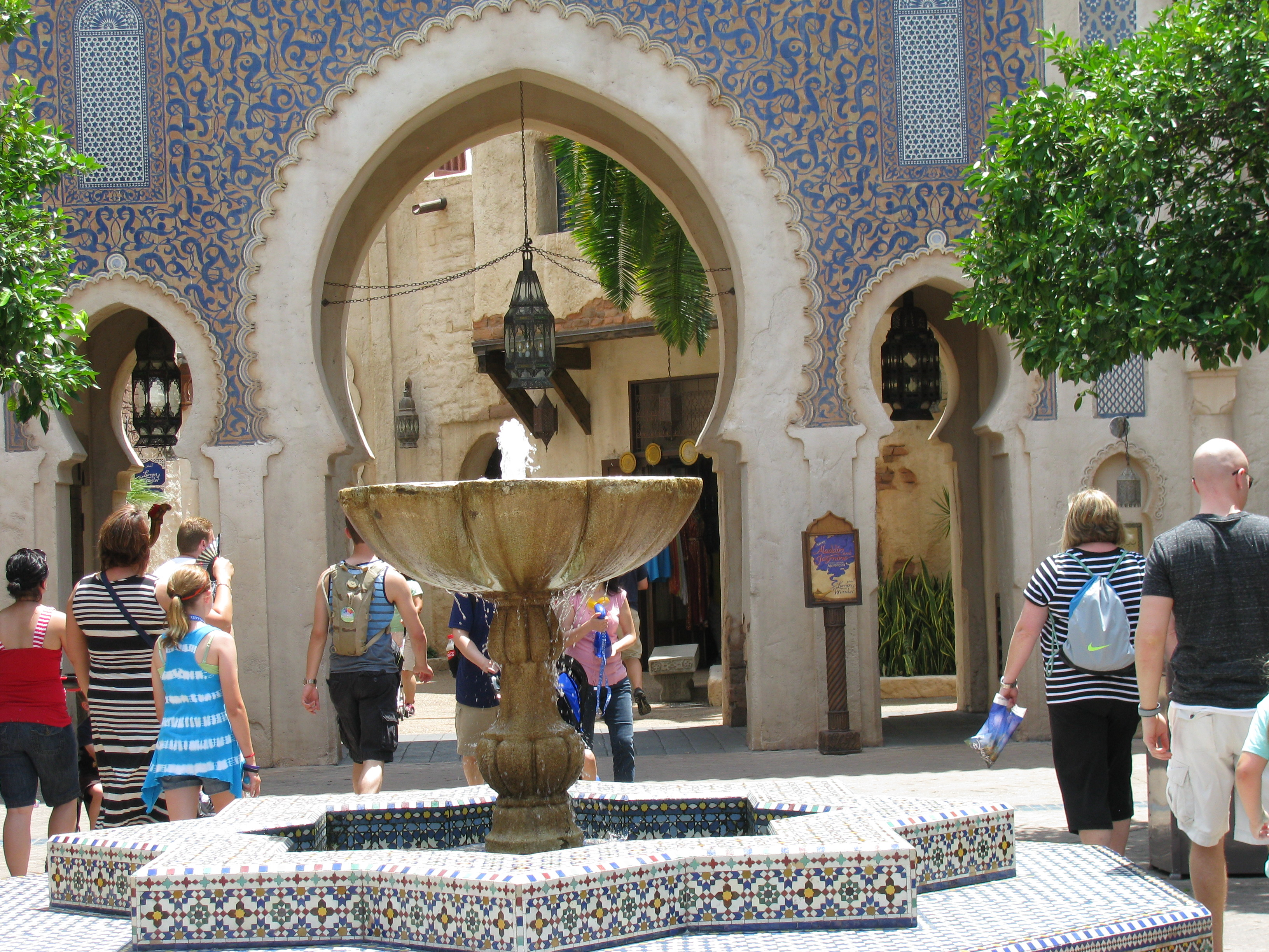 Epcot S Morocco Pavilion Five Great Things Living A Disney