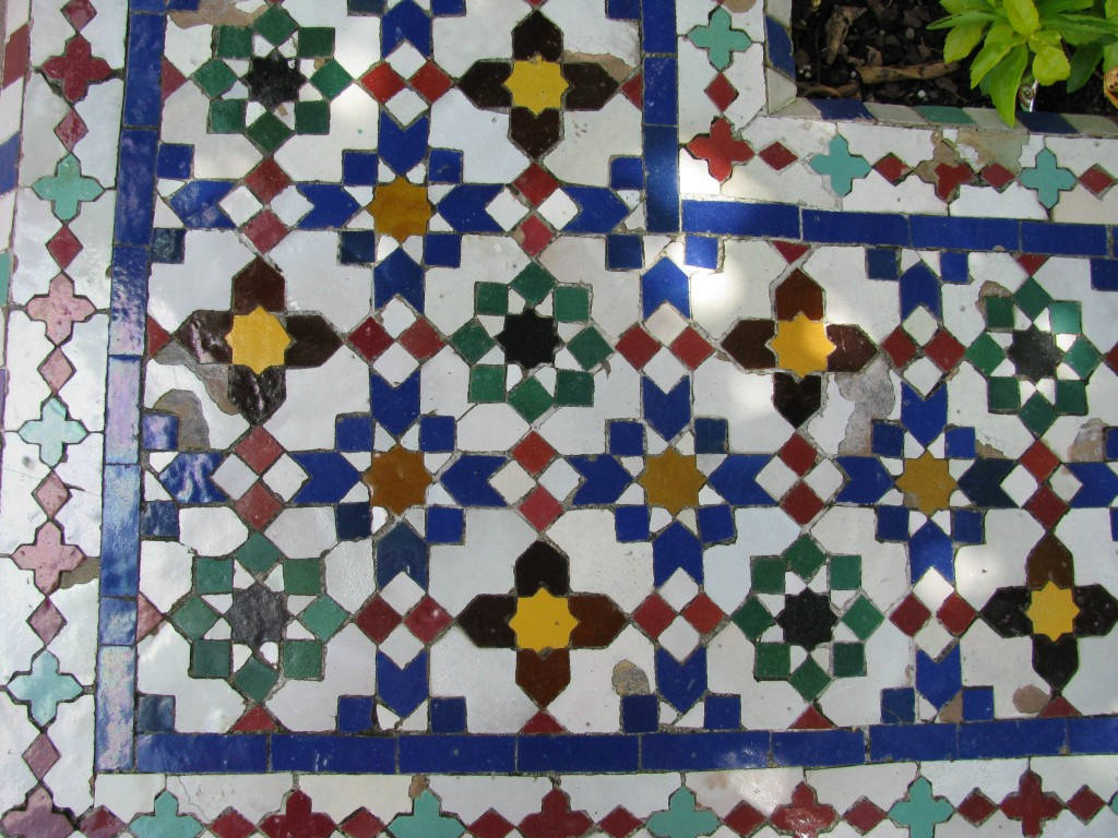 Tile Closeup / Morocco Pavilion / Epcot's World Showcase