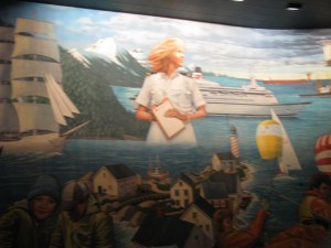 Mural in Maelstrom / World Showcase / Epcot