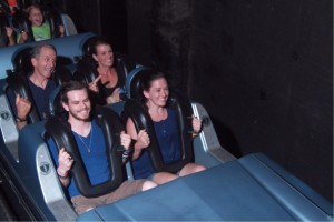 The Fam on Rock'n' Roller Coaster