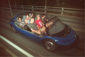 Test Track Ride Photo