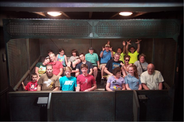 Tower of Terror Ride Photo