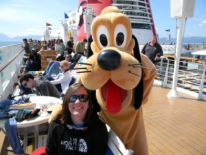 Pluto on Disney Cruise Line in Alaska