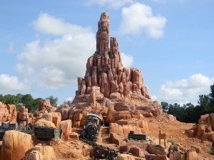 Magic Kingdom's Big Thunder Mountain Railroad