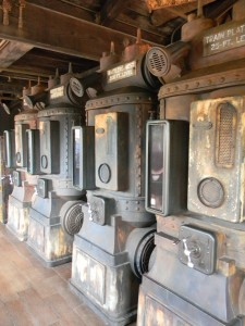 Interactive Queue for Big Thunder Mountain Railroad