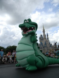 Crocodile in Festival of Fantasy Parade