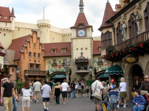 Germany Pavilion in Epcot's World Showcase