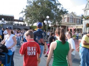 Walt Disney World in the Summer Crowds