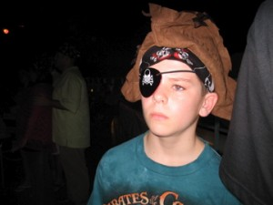 Pirate Night Costume on Disney Cruise Line